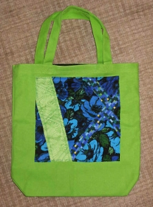 Modern Quilt square bag