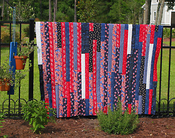 Lasagna Race quilt (Red/White and Blue) | Quilting Sisters Unravelled : red and blue quilt - Adamdwight.com