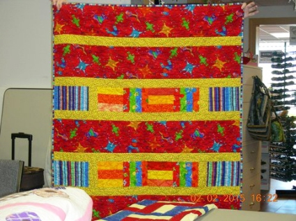 Jan 2015 - Charity Quilt