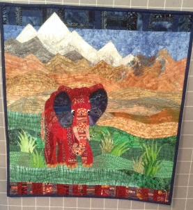 """""""Honoring Nepal"""" Donna's Hoffman Challenge entry"""