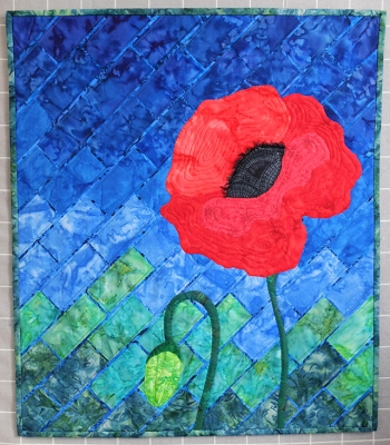 (BAC entry) Mary Harned - Field Poppy