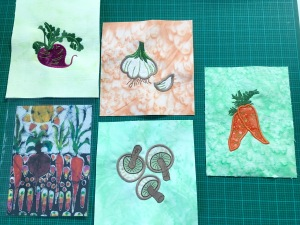 Vegetable Patch Embroidery Designs From Hatched In Africa Quilting