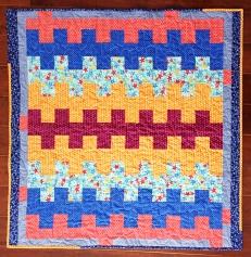 Baby Bargello - Neonatal charity quilt