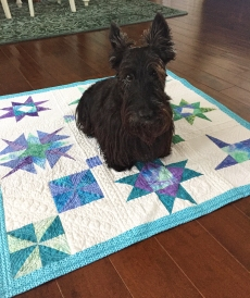 Ranger approved charity quilt