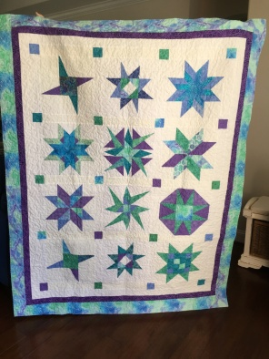 Front of large quilt