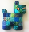 Scottie Patchwork Pillow